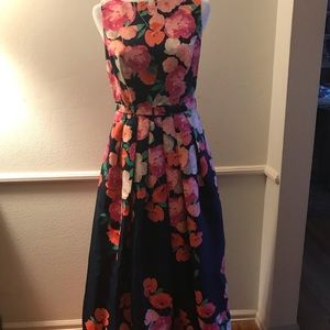 Elija J Long Dress Size 4